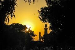masjid-sunset