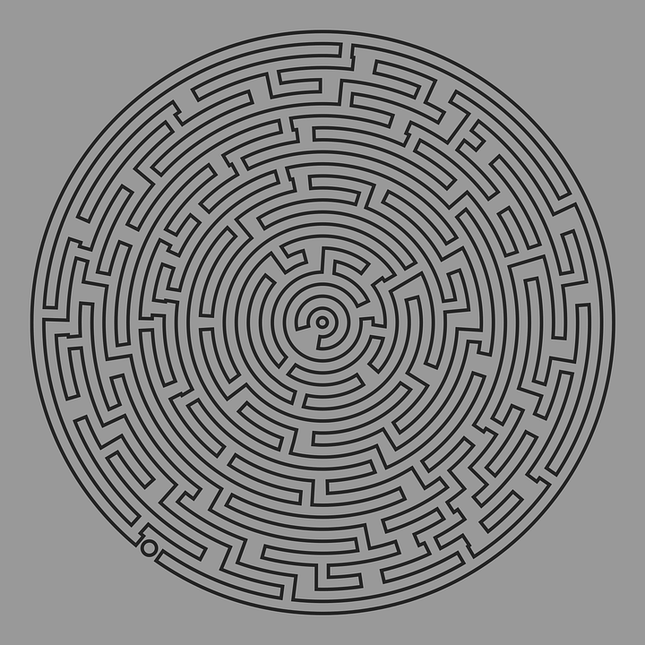 Very hard maze printable puzzle roadislamcom for Herd ma e