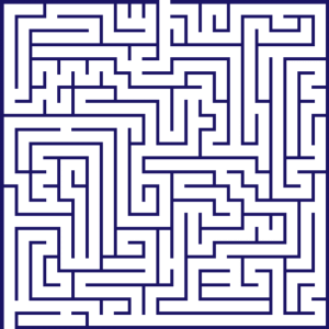 Medium Difficulty Maze Printable Puzzle