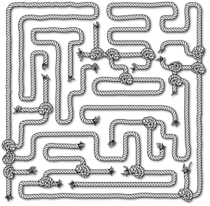 Easy Maze Printable Puzzle for Children